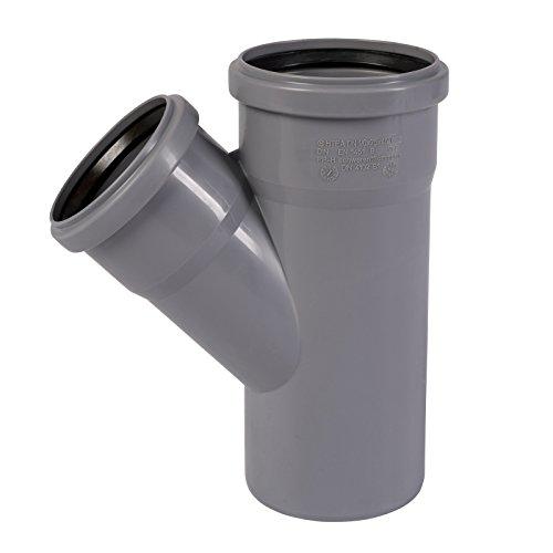 HT Abzweig DN 75/75/67 Grad HTEA Rohr 70 mm Kunststoff Einfachabzweig Formstück