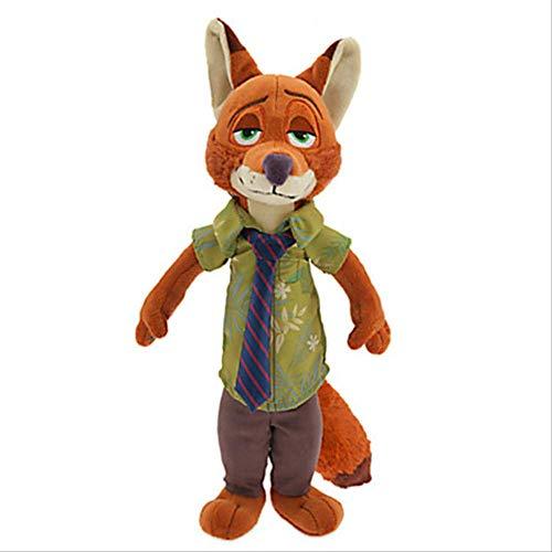 N\A Film Zootopia Plüschtier Niedlich Zootopia Kaninchen Judy Hopps Plüschtier Puppe Weiche Kuscheltiere Spielzeug Kinder Geschenk 40cm B