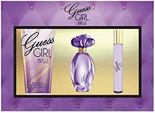 GUESS Girl Belle Eau de Toilette 100 ml + Body Lotion 200 ml+ Mini 15 ml, Gift Set for Women