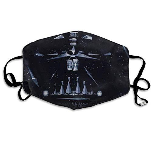 Na 1524 Staubmaske, waschbare atmungsaktive UV-geschützte warme Winddichte Außenmaske, Unisex Darth Vader