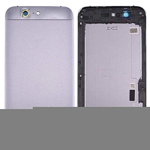 Accesorios para teléfonos móviles MMGZ for Huawei Ascend Cubierta Trasera de la batería G7 (Gris) (Color : Grey)