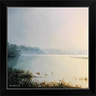 CANVAS ON DEMAND Early to Rise I Black Framed Art Print, 19