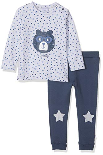Absorba 7p36511-ra Ens Pantalon Conjunto, Azul (Lagoon Blue 50), 18-24 Meses (Talla del Fabricante: 18M) para Bebés