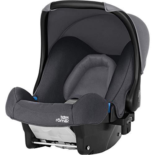 Britax Römer Babyschale Geburt - 13 Monate I 0 - 13 kg I BABY-SAFE Autositz Gruppe 0+ I Storm Grey