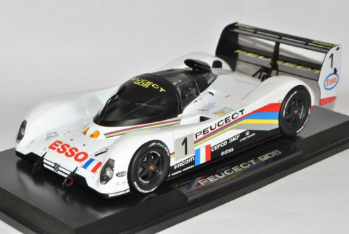 Preisvergleich Produktbild Norev Peugeot 905 Le Mans 1993 No 1 Dalmas Weiss 24H 1 / 18 Modell Auto