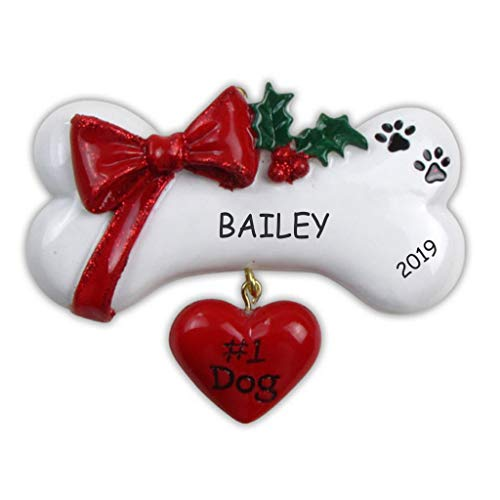 DIBSIES Personalization Station Personalized Pet Ornament (#1 Pet Dog)