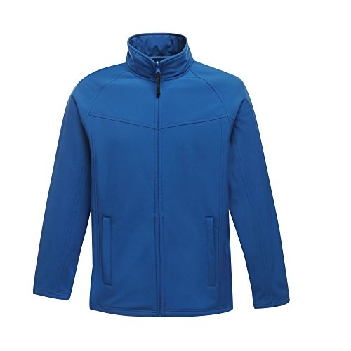 Regatta Uproar Herren Softshell Fleece-Jacke, Windabweisend (XXXL) (Oxford Blau)