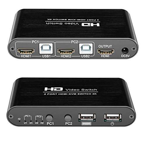 Switch Switcher HDMI 1.4; HDCP 1.4 Computer Switcher