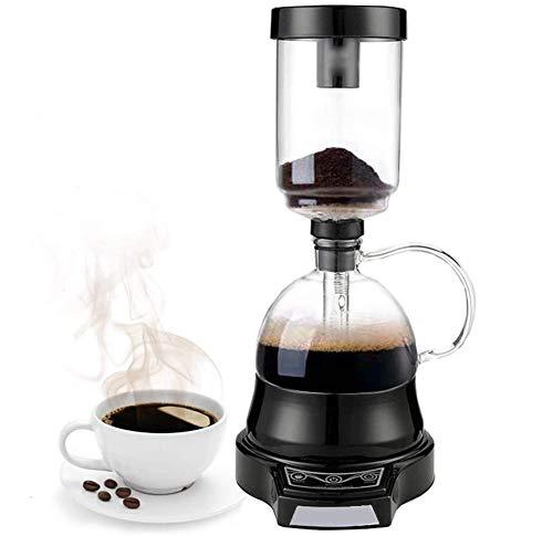 MOOLUNS Cafetera De Sifón, vacío Cafetera, eléctrica Sifón Coffee Pot Sifón pote...