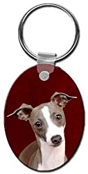 Italian Greyhound Key Chain
