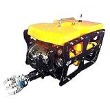 AHELT-J Cámara de Robot Submarino, Robot Submarino ROV 110 con Brazo Mecánico Explorer Dron Submarino Exclusivo Tipo 3. Cable & Versión Arm & Ground Station.