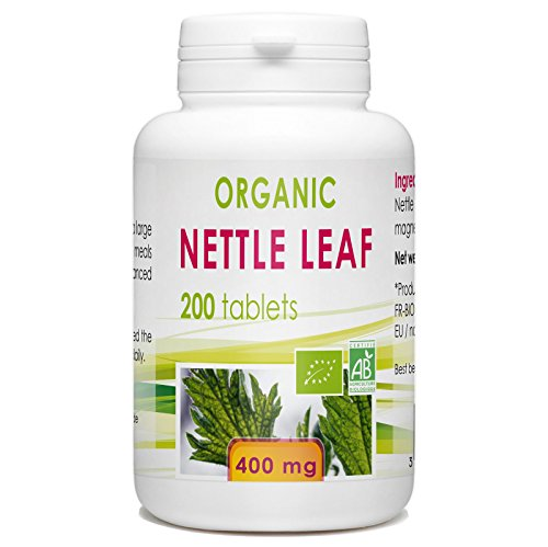 Nettle Leaf Organic - 200 tablets - 400mg