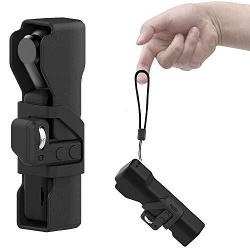 Linghuang Handheld Funda Protectora con Estuche Protector para dji OSMO Pocket con Rueda de Control