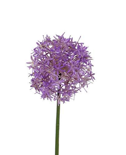 PARC Network - Zierlauch Künstlich, violett, 30cm, Ø15cm - Allium Deko - Zierlauch Deko - Kunstblume - Allium Künstlich - Kunstpflanze