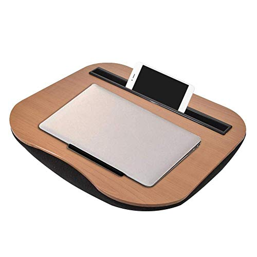Lap Desk with Pillow Cushion, Portable Laptop Stand Ideal for Working Home, Multifunction as A Book Stand Sleeping Pillow Mobile Desk Work Table Lap Writing Drawing Desk