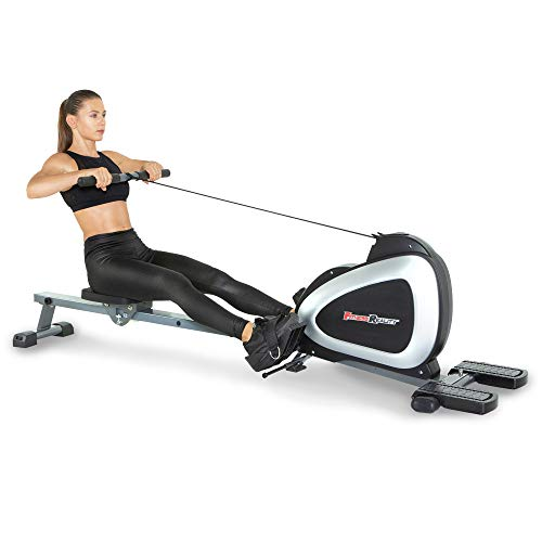 FITNESS REALITY 1000 PLUS Bluetooth Magnetic Rowing Rower with Extended