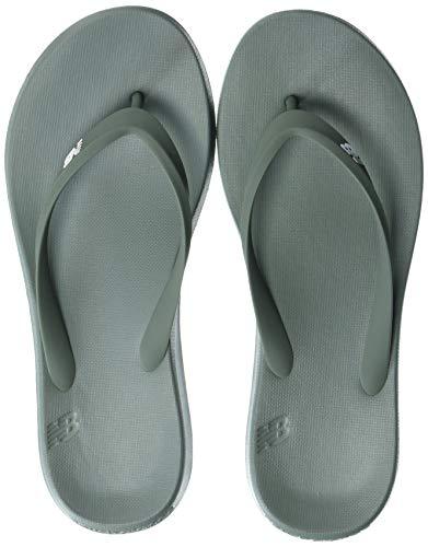New Balance Men's 24 V1 Flip Flop, Olive/White, 14 M US -  SUT24F1-307-14 D US800