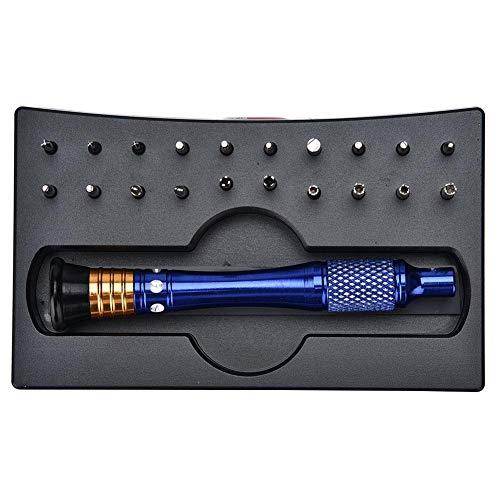 yuyte 20pcs Sonderform Präzisions Schraubendreher Set, Uhr Repair Tool, für Laptops, Handys, Brillen, Watch
