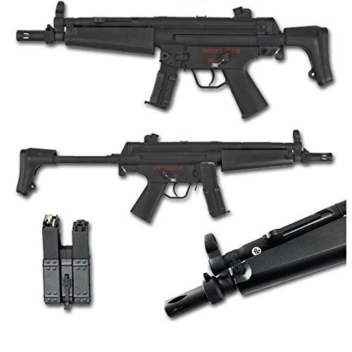 SAS FUCILE SOFTAIR ELETTRICO ABS MP5 J CM027-J NERO- CYMA 0,9 JOULE