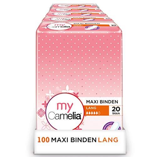 Camelia Maxi Binden Lang, 100 Stück