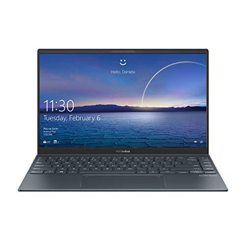 "ASUS Zenbook 13 UM325UA#B08CKQZGGD, Notebook in alluminio, Monitor 13,3"" FHD Glossy OLED, AMD Ryzen 5 5500U, RAM 8GB, 512GB SSD PCIE, Windows 10 Home, Grigio scuro"
