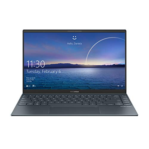 ASUS Zenbook 14 UX425JA-BM040T, Notebook in alluminio con Monitor 14' FHD Anti-Glare, Intel Core i7-1065G7, RAM 16GB LPDDR4X, 512GB SSD PCIE, Windows 10 Home, Grigio scuro