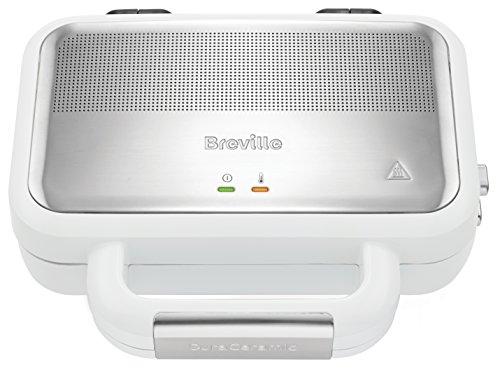 Breville VST074X VST074X-01 Jumbo-Sandwich-Toaster, Edelstahl