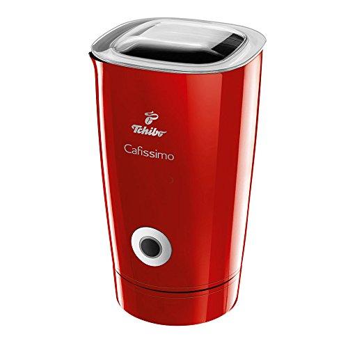 Tchibo Cafissimo Elektrischer Milchaufschäumer (500 Watt, 250 ml) Rot