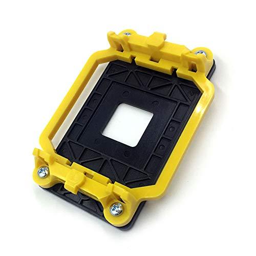 NHOUYAO AMD - Soporte de plástico para ventilador AM2 AM2 + AM3 AM3 + FM1 FM2, color amarillo