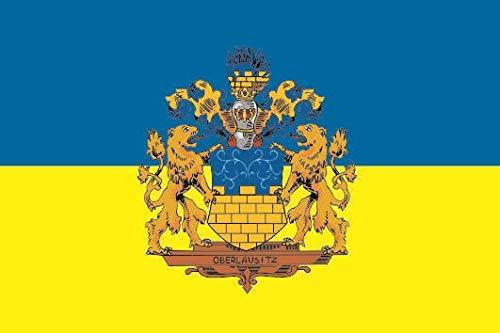 U24 Fahne Flagge Oberlausitz Bootsflagge Premiumqualität 20 x 30 cm