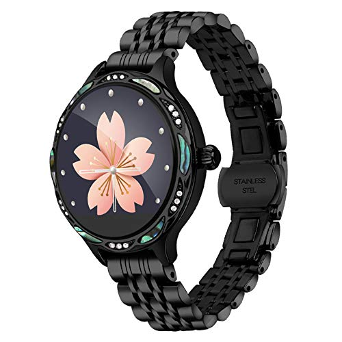 Smart Watch M9, Smartwatch resistente al agua IP68 para el período de las mujeres, rastreador de actividad física con frecuencia cardíaca y podómetro / calorías del sueño, pulsera para Android e IOS