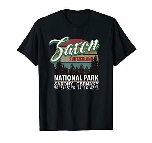 Nationalpark Sächsische Schweiz Sachsen Deutschland T-Shirt