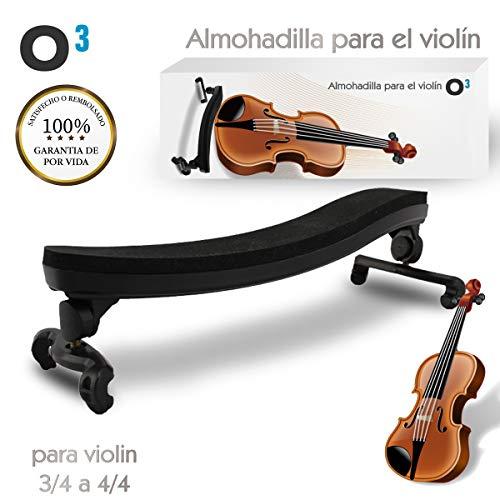 O³ Almohadilla Violin 3/4 a 4/4 Ajustable Para Violin |