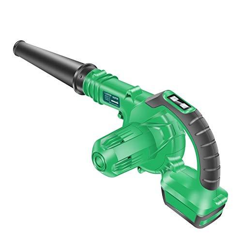 AYGANG 14,4 V Li-Ion eléctrico del Ventilador Aspirador de Inicio Alquiler de Aspirador sin Cable soplador de Aire portátiles Herramientas soplador de Hojas (Plug Type : 1)