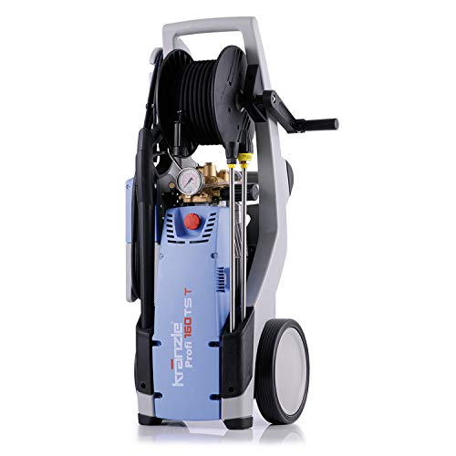 Kraenzle Profi 160 TS T Vertical Eléctrico 660l/h 3200W Negro, Azul, Gris Limpiadora de alta presión o Hidrolimpiadora - Limpiador de alta presión (Vertical, Eléctrico, 15 m, 5 m, Negro, Azul, Gris, 660 l/h)