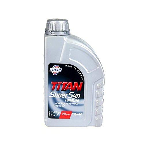 Motoröl Fuchs Titan Supersyn Longlife 5W-40 1 Ltr. Do