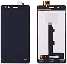 JayTong LCD Display & Replacement Touch Screen Digitizer Assembly with Free Tools for BQ Aquaris E4.5 5K0631 Black