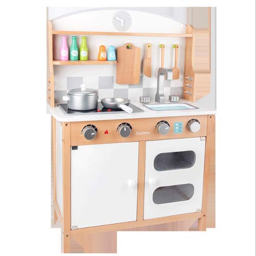 PETRLOY Juguetes de Cocina de simulación, Juguetes de Cocina para niños Estufa de gabinete Juguete para niñas para niños Regalo Mini Cocina para niños Juego de Cocina