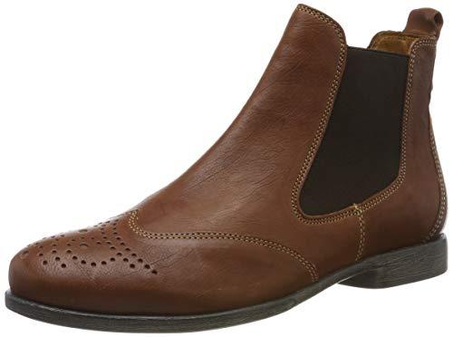 Think! Damen AGRAT_585226 Chelsea Boots, Braun (Cognac 55), 40.5 EU