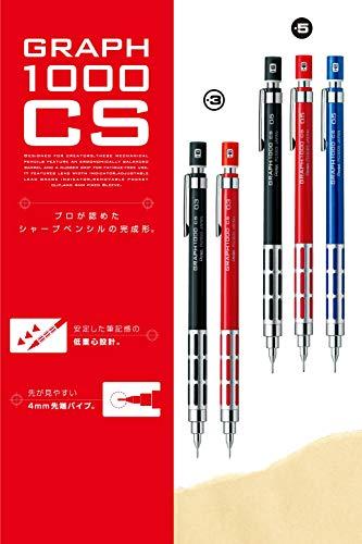 Pentel mechanical pencil GRAPH1000 0.5mm Black (japan import) Photo #4