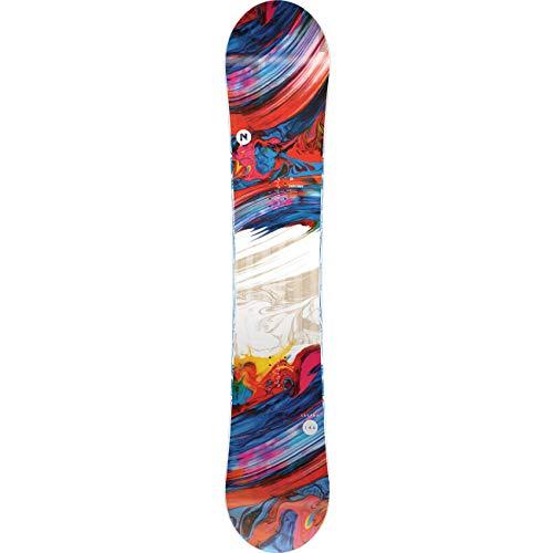 Nitro Snowboards Damen Lectra '20 Fehlerverzeihenden All Mountain Girls Snowboard für Einsteiger, Fortgeschrittene Board, Mehrfarbig, 146 cm
