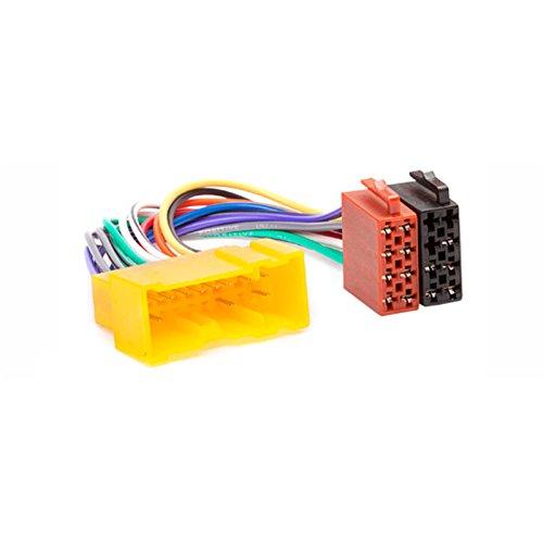CARAV 12-018 ISO Adapter Cable. Radio Adapter for Nissan Almera 2000-2005; Premiera 1999-2004; Micra 2000-2004; Terrano 1988-2000; Vanette 1995+; X-Trail 2001-2004