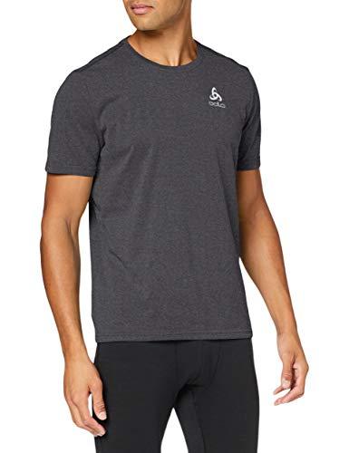 Odlo BL TOP Crew neck s/s MILLENNIUM ELEMENT Shirt Homme black FR : L (Taille Fabricant : L)