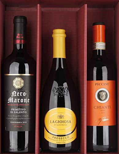 Coffret Cadeau de Vin Viva Italia! Tuscany 2,25 L