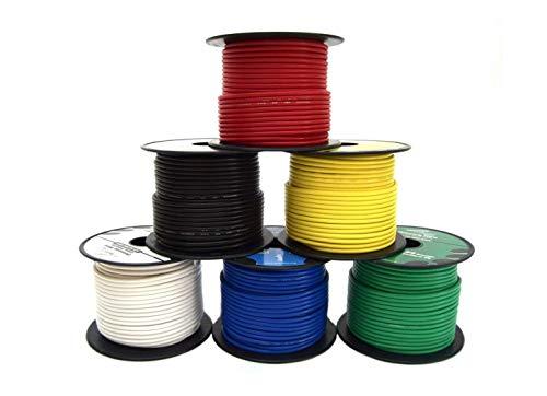 16 Gauge Wire Combo 6 Pack 12V 100