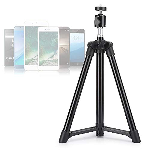 Soporte para trípode Cámara en Vivo de usos múltiples Soporte para trípode Soporte para teléfono Escritorio para cámaras Digitales Videocámaras Teléfonos Inteligentes(0.5M)