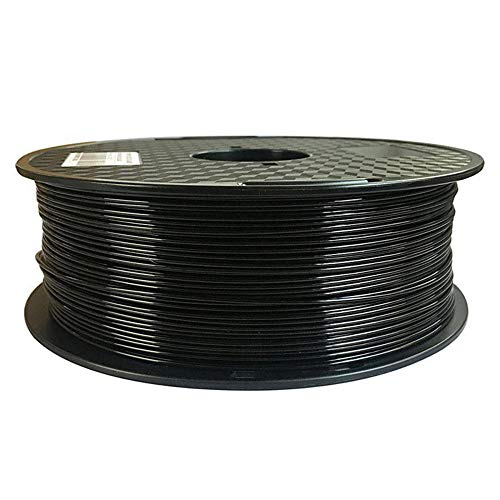 PA Nylon Filament 1,75 mm, 3D-Druckerfilament, hohe Hartnylon-Nylon, 1kg-Spule-schwarz