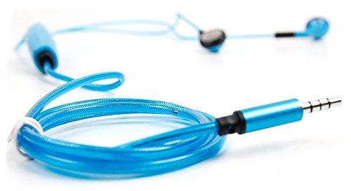 DURAGADGET Auricolari in-Ear LED Blu per Cellulare...