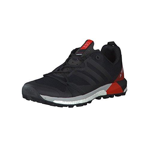 adidas adidas Herren Terrex Agravic Traillaufschuhe, Schwarz (Negbas/Carbon/Roalre 000), 42 EU