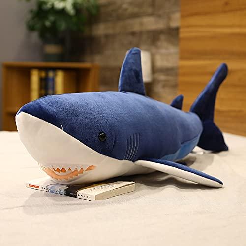 AYQX Gigante Megalodon Shark KPOP Juguetes de Peluche para niñas cojín de Almohada...